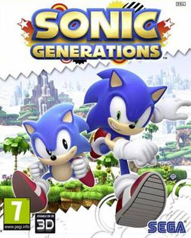 SONIC GENERATIONS - STEAM - PC - WORLDWIDE