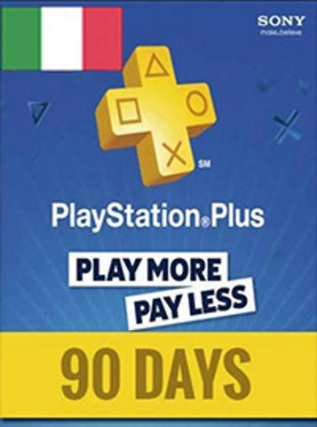 PLAYSTATION NETWORK CARD (PSN) 90 DAYS (ITALIAN) - PLAYSTATION - EU