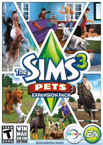 THE SIMS 3: PETS - ORIGIN - PC - WORLDWIDE