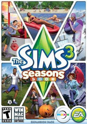 THE SIMS 3: SEASONS - ORIGIN - PC / MAC - WORLDWIDE