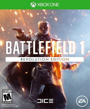 BATTLEFIELD 1: REVOLUTION (XBOX ONE) - XBOX LIVE - WORLDWIDE