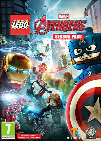 LEGO: MARVEL'S AVENGERS - SEASON PASS - STEAM - PC / MAC - WORLDWIDE
