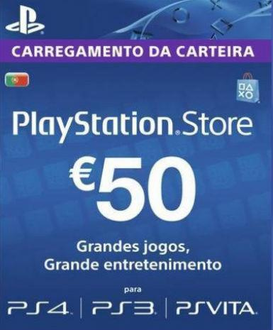 PLAYSTATION NETWORK CARD (PSN) 50 EUR (PORTUGAL) - PLAYSTATION - EU
