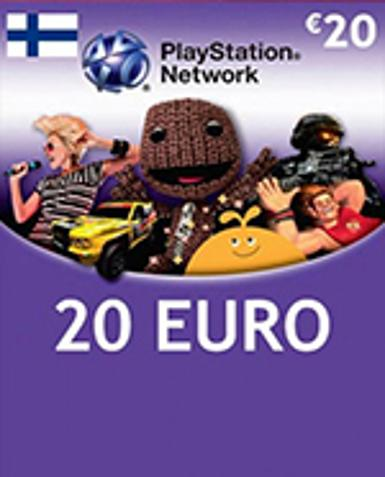 PLAYSTATION NETWORK CARD (PSN) 20 EUR (FINLAND) - PLAYSTATION - EU