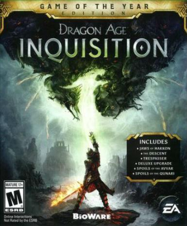 DRAGON AGE 3: INQUISITION - GAME OF THE YEAR EDITION - ORIGIN - PC