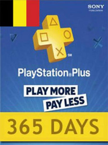 PLAYSTATION NETWORK CARD (PSN) 365 DAYS (BELGIUM) - PLAYSTATION - EU