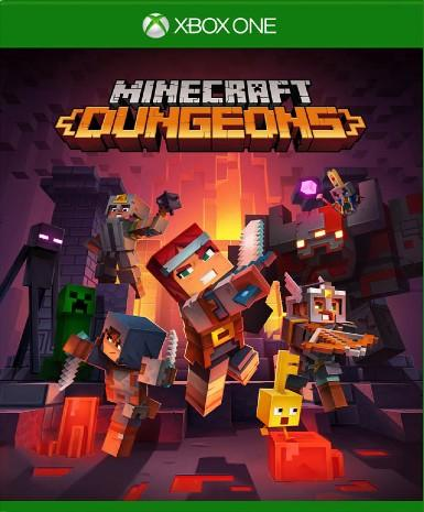 MINECRAFT: DUNGEONS - XBOX ONE - XBOX LIVE - MULTILANGUAGE - WORLDWIDE Libelula Vesela