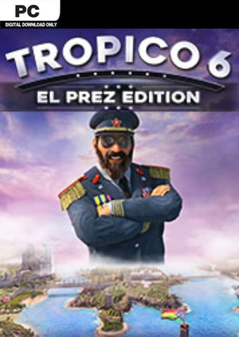 TROPICO 6 EL-PREZ EDITION - STEAM - PC - EU