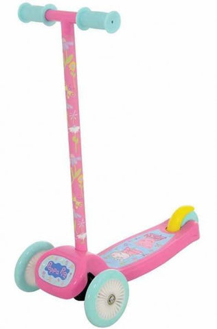 TROTINETA COPII 3 ROTI TWIST AND ROLL PEPPA PIG - MVS (MVSM14320)