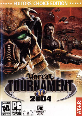 UNREAL TOURNAMENT 2004 EDITOR'S CHOICE EDITION - GOG.COM - MULTILANGUAGE - WORLDWIDE - PC