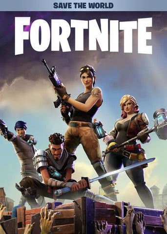 FORTNITE: SAVE THE WORLD - DELUXE FOUNDER'S PACK - XBOX ONE - XBOX LIVE - UNITED STATES Libelula Vesela