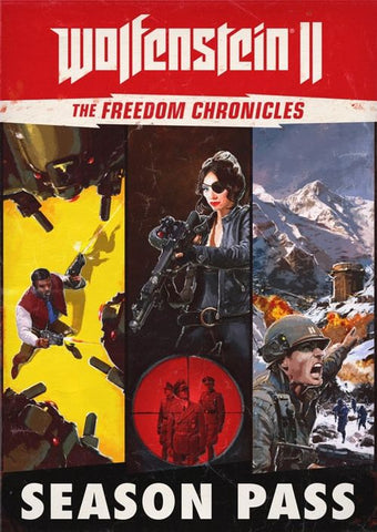 WOLFENSTEIN II: THE FREEDOM CHRONICLES - SEASON PASS - STEAM - MULTILANGUAGE - WORLDWIDE - PC Libelula Vesela