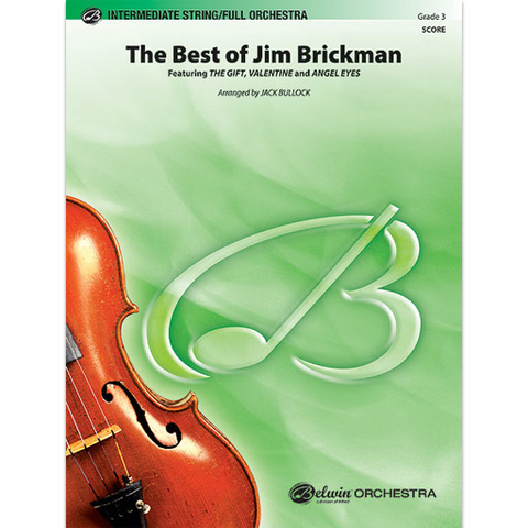 Best of Jim Brickman - String or Full Orchestra Grade 3 Score/Parts arranged by Bullock Belwin 38435