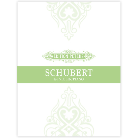 Schubert - 3 Sonatinas Op137 - Violin/Piano Accompaniment Peters P11099