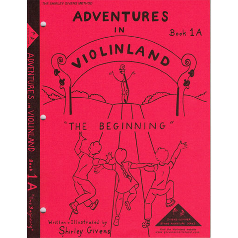Adventures in Violinland Book 1A - Violin by Givens SS1A