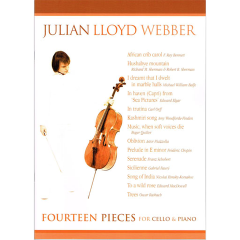 14 Pieces - Cello/Piano Accompaniment edited by J.Lloyd Webber M3612176