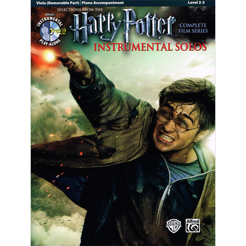 Harry Potter Movies (Complete Film Series) - Viola/CD/Piano Accompaniment 39238