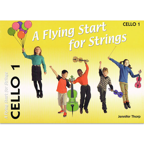 Flying Start for Strings Book 1 - Cello Revised Edition FS047 - SHEETYAS