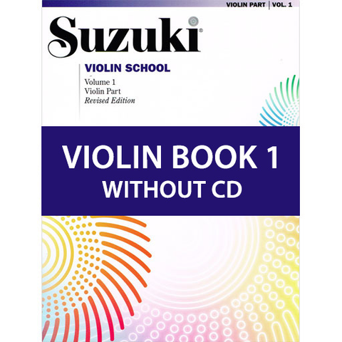 Suzuki Violin School Book/Volume 1 - Violin Book New Edition 0144S