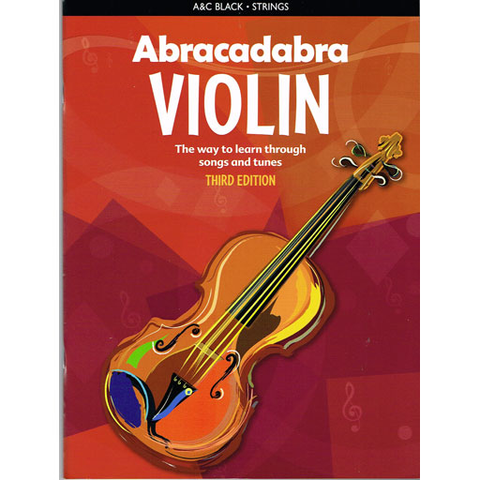 Abracadabra Book 1 - Violin 3rd Edition 1408114605