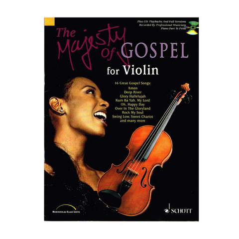 ***WAS $44.95*** The Majesty of Gospel - Violin SCED9701