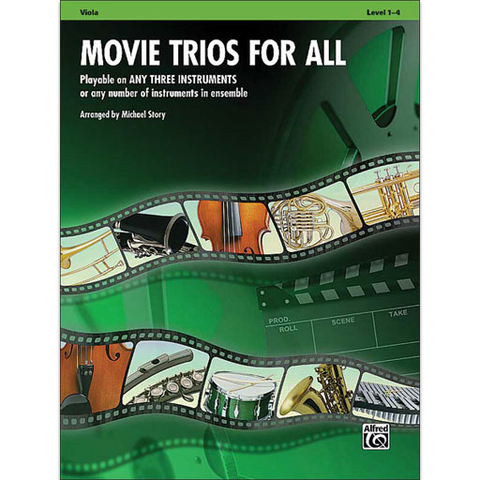 Movie Trios for All - Viola Trio 33534
