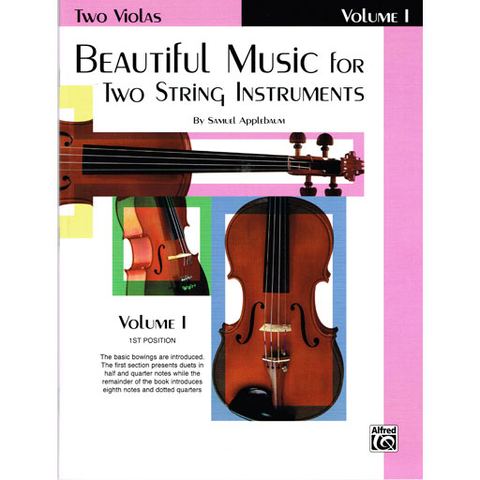 Beautiful Music for Two String Instruments Volume 1 - Viola Duet EL02200