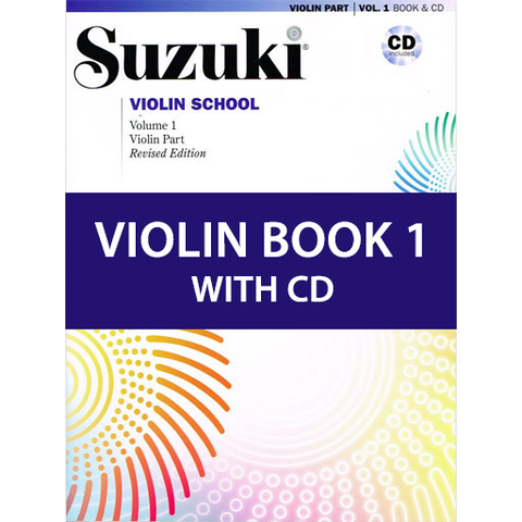 Suzuki Violin School Book/Volume 1 - Violin/CD International Edition 46910 (NEW EDITION)
