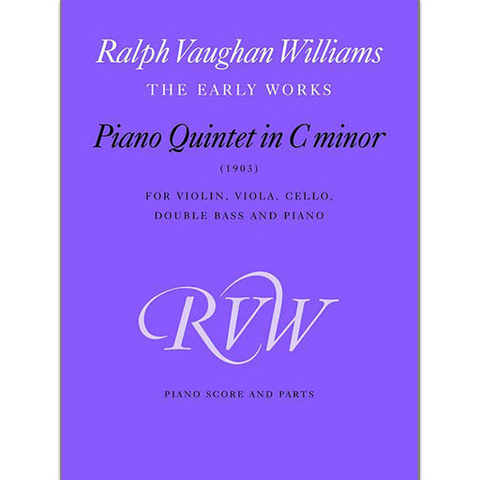 ***WAS $105*** Vaughan-Williams - Piano Quintet in Cmin - Piano Quintet Faber 0571519539