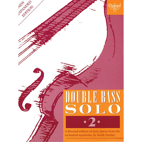 Double Bass Solo Book 2 by Hartley 9780193222489