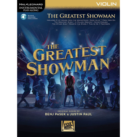 The Greatest Showman - Violin/Instrumental Play-Along Hal Leonard 277396