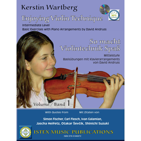 Enjoy Violin Technique - Violin/CD/Download by Wartberg Istex 9783946872009