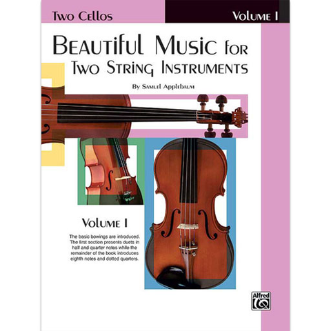 Beautiful Music for Two String Instruments Volume 1 - Cello Duet EL02201