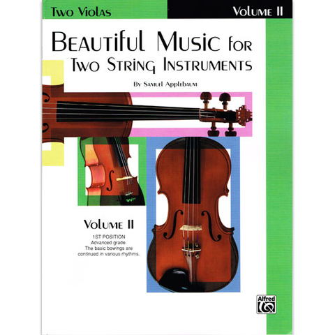 Beautiful Music for Two String Instruments Volume 2 - Viola Duet EL02212