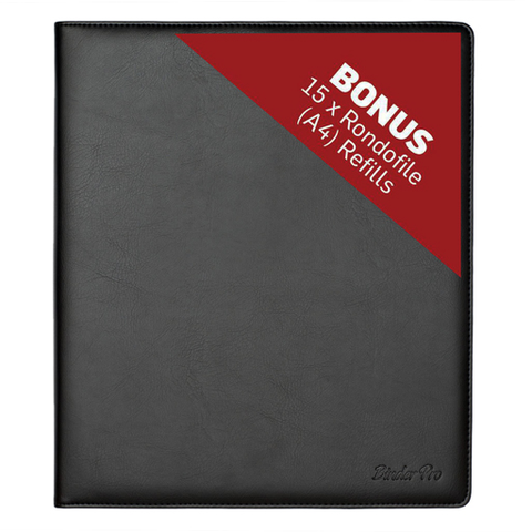 Rondofile Pro - Binder Pro + 15 Refills - Music Display Folder