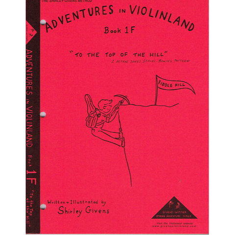 Adventures in Violinland Book 1F - Violin by Givens SS1F