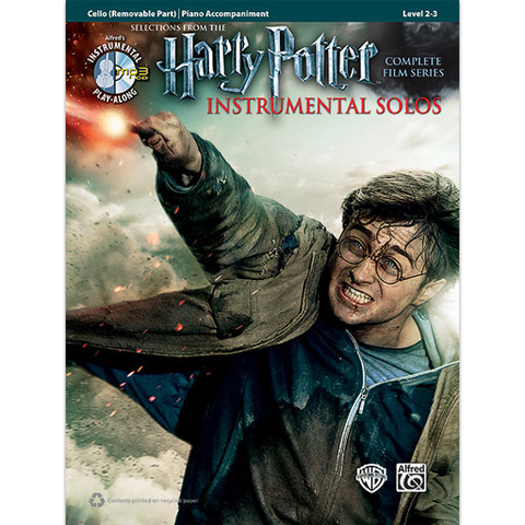 Harry Potter Movies (Complete Film Series) - Cello/CD/Piano Accompaniment 39241