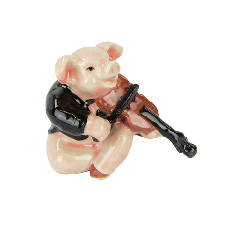 PIG PLAYING THE VIOLIN