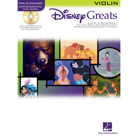 Disney Greats - Violin/CD 841941