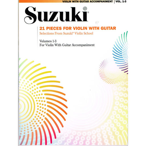 21 Pieces for Violin & Guitar - Violin/Guitar Duet by Suzuki 0295S
