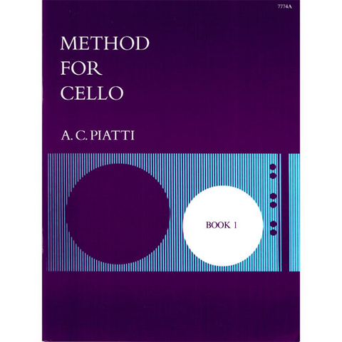 Piatti - Method Book 1 - Cello Stainer & Bell 7774A