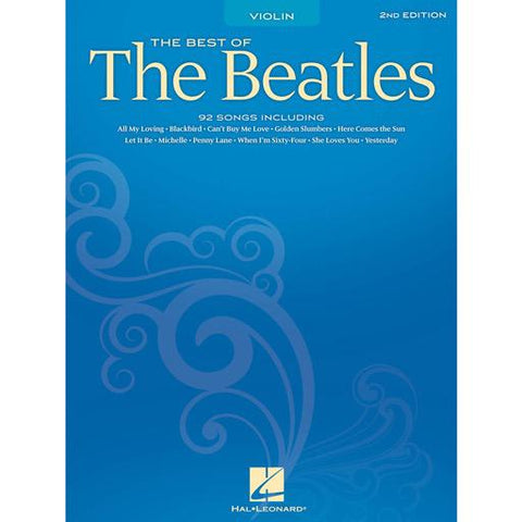 Best of the Beatles - Violin Solo Hal Leonard 842116