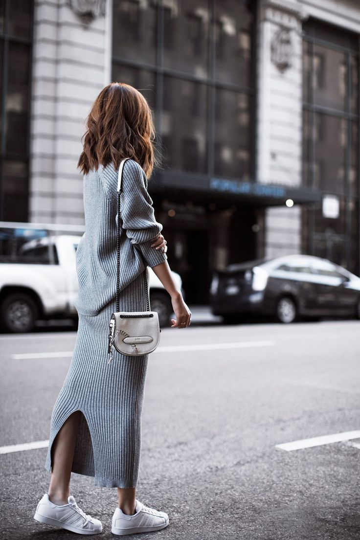 get styled grey dress 1