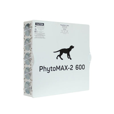 Black Dog front view phytomax-2 600 Back View