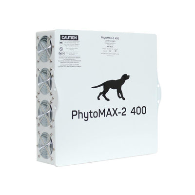 Phytomax-2 400 Black Dog Grow Light Back