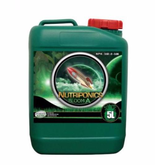 GrowHard Nutriponics Nutrients - Bloom A&B - 1L 5L 25L