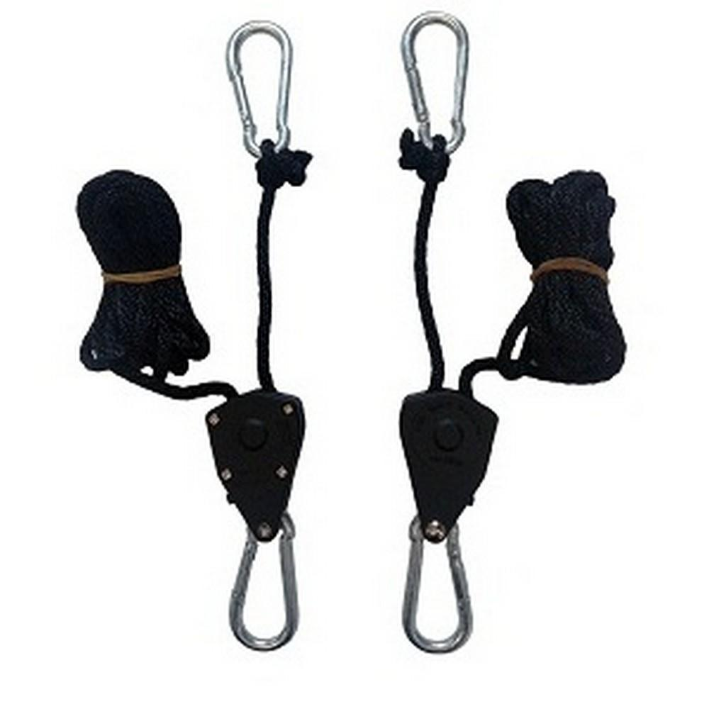 2 pack Rope ratchet hangers