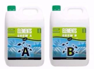 Nutrifield Elements Grow A & B 5 Liter set Nutrients