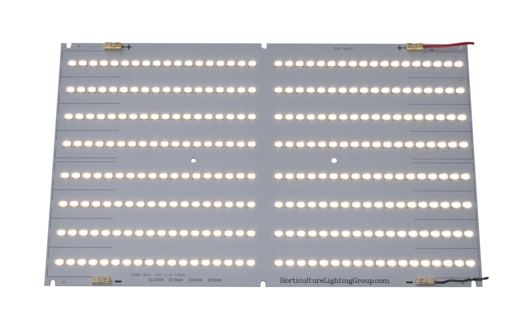 horticulture lighting group qb288 quantum boards various spectrums