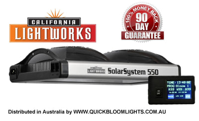 grow Light SolarSystem 550 from California Lightworks Quickbloomlights.com.au